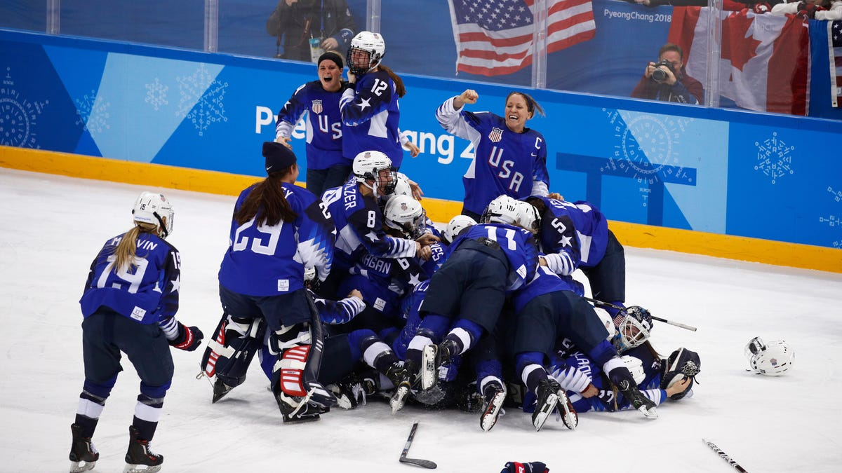 Team USA's Women's Hockey Gold Was The Most Electrifying ...